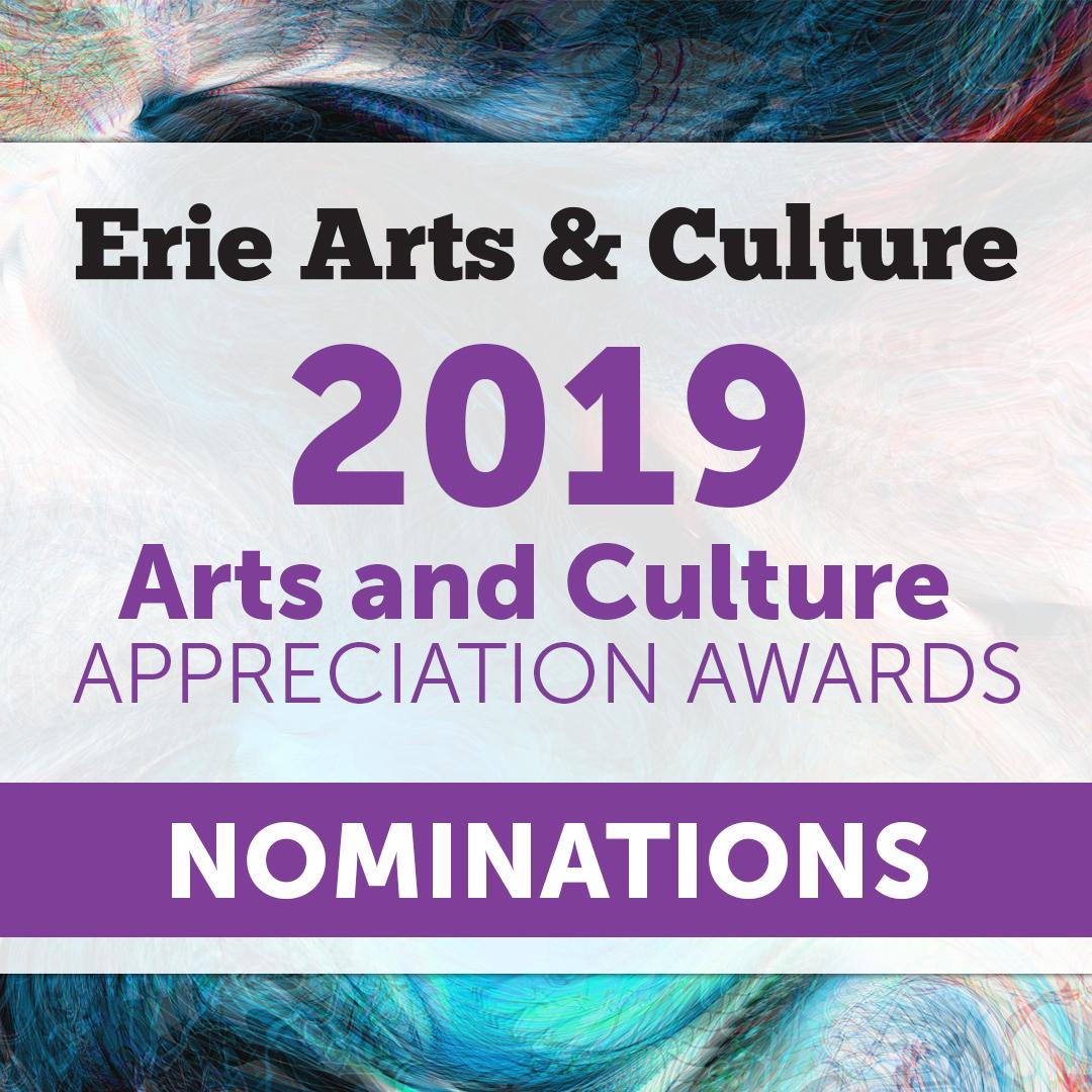 2019 Arts and Culture Appreciation Awards Nominations - Erie