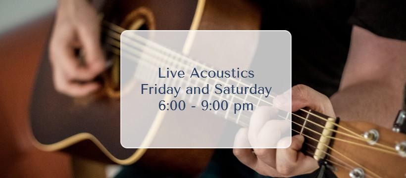 Live Acoustic - Oasis Pub
