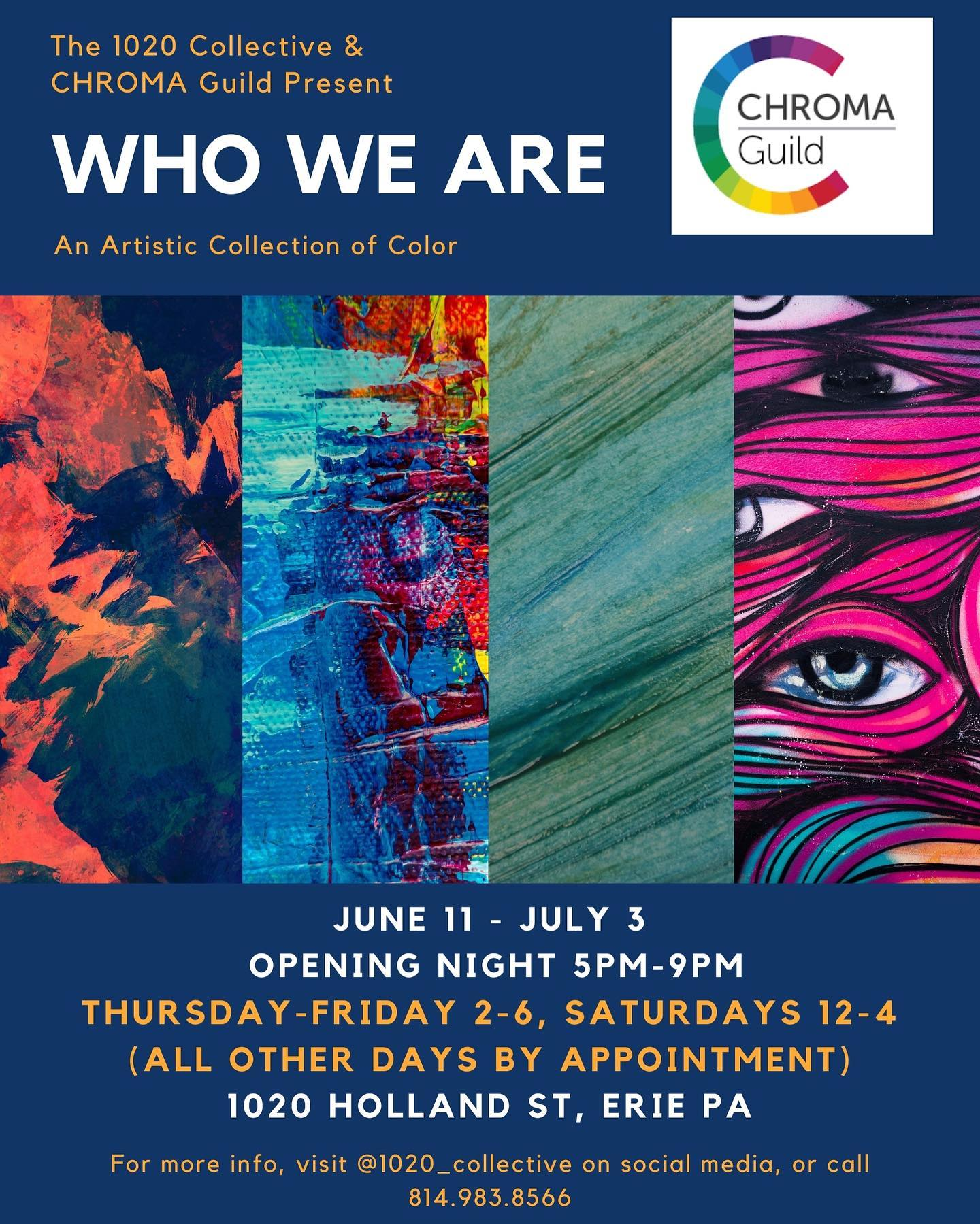 Opening of Who We Are: An artistic collection of color