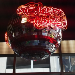 6 ft Disco Ball with Neon Lights and rotates