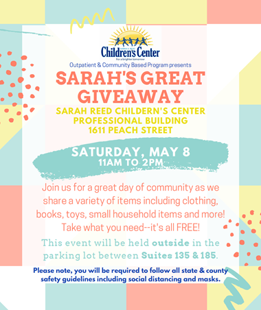 2nd Annual Sarah's Great Giveaway