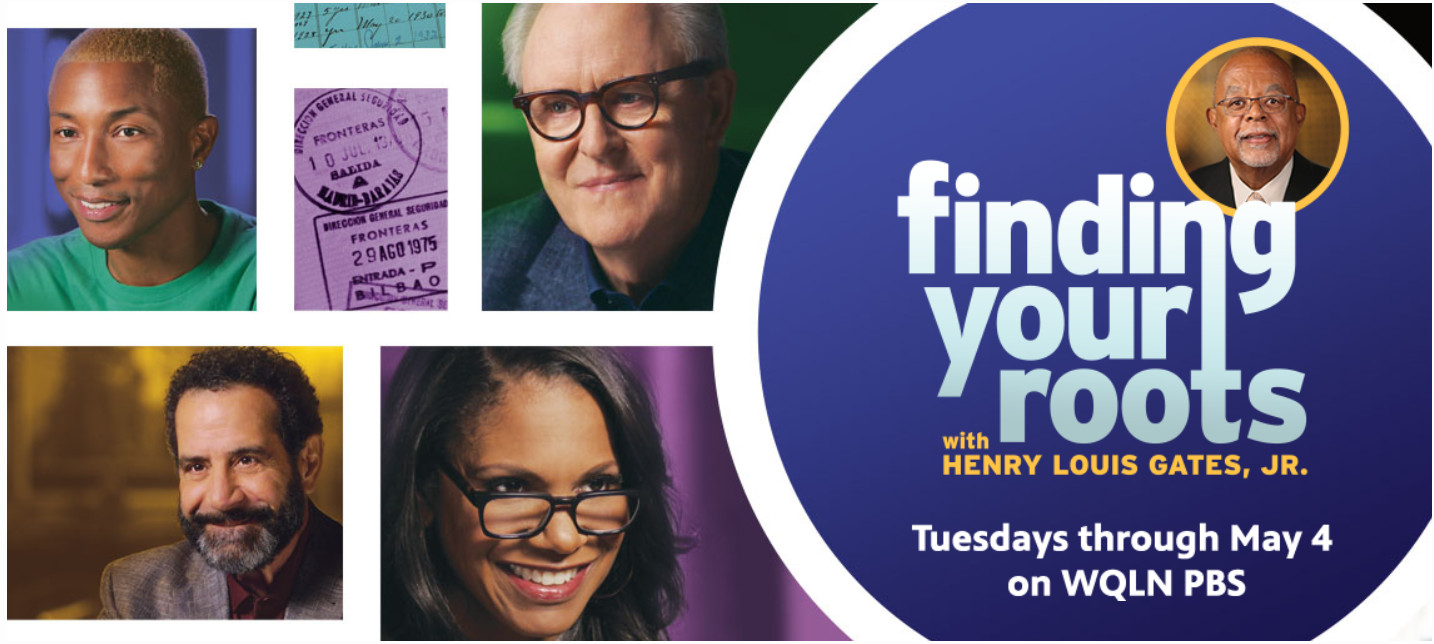 Online Screening & Chat - PBS Finding Your Roots, Ancestry in Erie